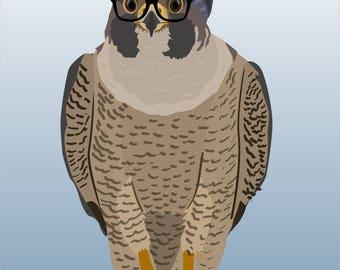 "Peregrine Falcon ""Millennial Falcon"" Mug"