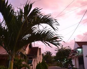 The Simple Life PRINTABLE   East Java, Indonesia Photo Print   wall art print, travel photography, sunset photography, decor