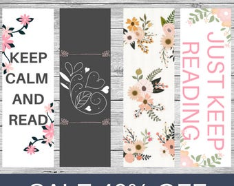 bookmark set printable bookmarks book lover book worm book geek