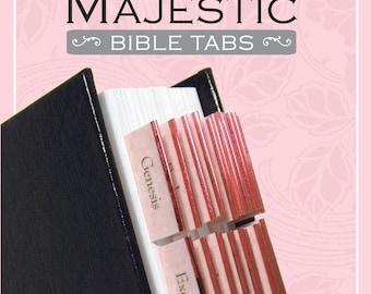 Rose Bible Tabs,books of the Bible, Bible Journaling,Bible Journaling, Gifts for Mom Sister Friend, Journaling Bible