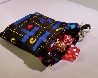 PacMan Dice Bag