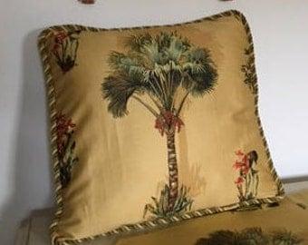 Solstice tropical pillow sham