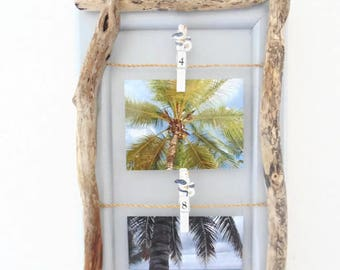 Memory Board - door photos Driftwood - deco seaside