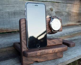 Boyfriend gift,Docking Station, iphone 6 plus,mens gift,birthday gift,gift for men,groomsmen gift,gift for him,husband gift,dad gift,men