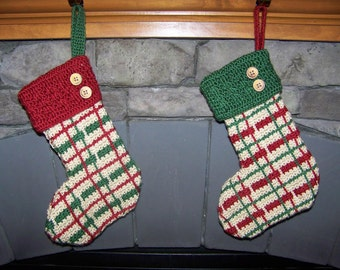 Plaid Stockings - 2 color options