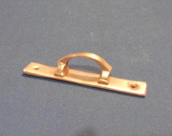 Antique Brass Window Pulls, Solid Brass Door Handles, Brass Antique Drawer Pulls, Brass Cabinet Handles