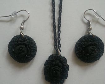Flower Jewelry - Polymer clay