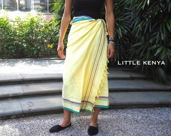 African Kikoy - Beach Sarong - Beach Towel - Coverups - Tribal Clothing - Headwraps - Beachwear - Blanket - Scarf