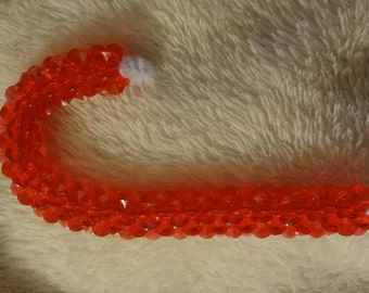 """3"""" Red Candy Cane Ornament"""