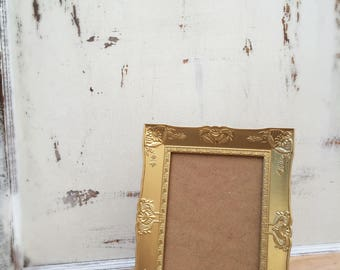 5x7 Gold Wedding Picture Frame, French Country, Shabby Chic, Baroque, Ornate, Vintage Style, Wedding Table Number Frames, Home, Wall Decor