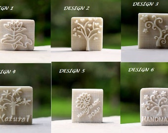 Resin Soap Stamp Stamping Soap Mold Craft Drop Shipping soap chapter choose deign  Size : about 4*3cm