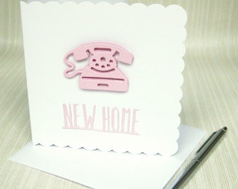 Your New Home Card, Happy New Home, New Home Card, Moving Home Card, Housewarming Card, Moving Home, Moving House, New Home