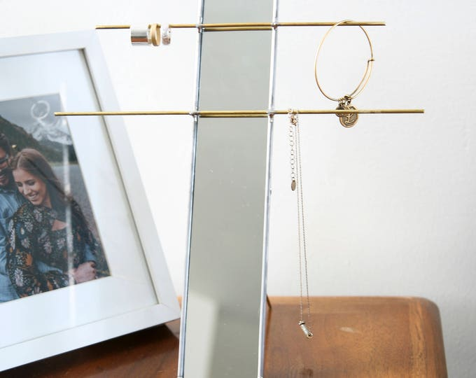 Featured listing image: Mirror Jewelry Stand Organizer