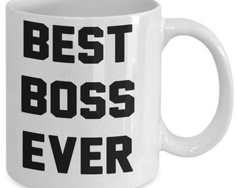 BEST BOSS EVER coffee mug gift for Boss
