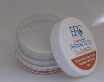 Vegan Kid's Remineralizing Toothpaste with Baking Soda, Calcium Carbonate, Trace Minerals