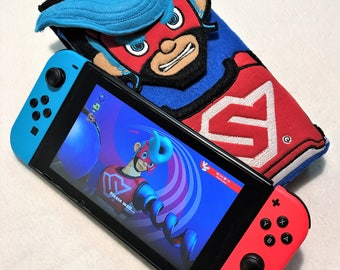Nintendo Switch Case Arms Switch Case Springman Switch Case Nintendo Arms Springman
