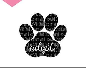 Sheltie Animal Rescue Pet Adoption Adopt A Dog Svg Decal
