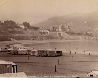 Neurdein playa de San Sebastian
