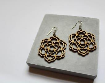Rinu   Mandala Earrings