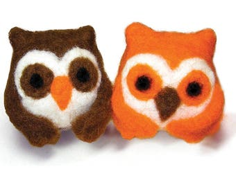 Owl Needle Felting Kit - Dimensions Feltworks
