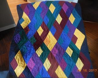 Modern baby quilt, baby quilt, quilt