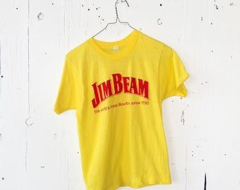Vintage Jim Beam Logo Tee