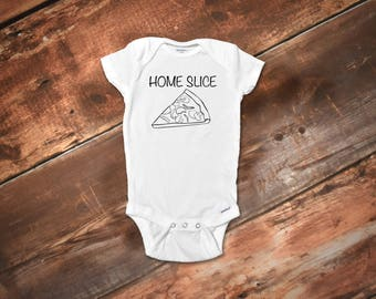 Home Slice Onesies®, Funny Baby Onesies®, Boy Onesies®, Girl Onesies®, Funny Baby Gift, Boho Baby, Funny Baby Clothes, Trendy Baby Clothes
