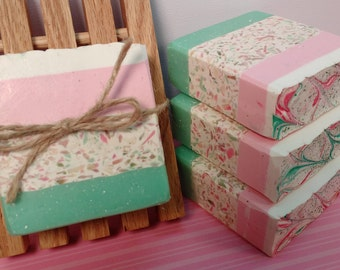 Hand Crafted Soap/ Bellas Kiss/ Homemade soap
