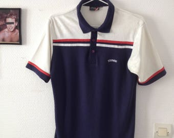 Vintage polo STARWING STRIPED size M