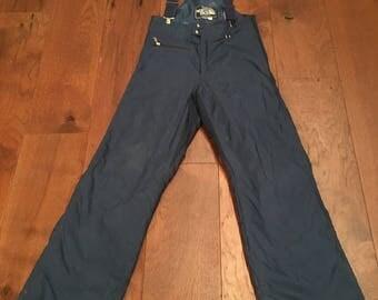 The North Face Ski Bibs Super Rare Never Worn 1983 Uniform Edition Bibs Size Women's Small