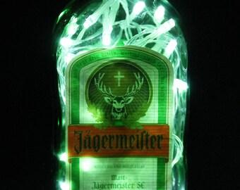 Jägermeister Bottle Lamp
