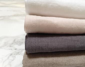 Premium soft linen napkin / Softened linen napkins / Dinner napkins /Organic linen napkins /Kitchen textiles /Kitchen linens/Wedding napkins