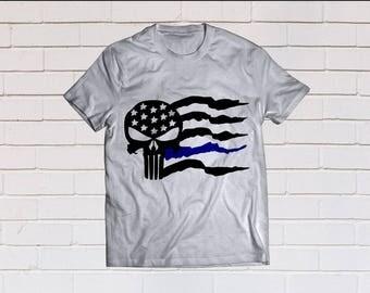 american flag svg, thin blue line svg, flag svg, back the blue svg, police svg, SVG, Dxf, Eps, Png, Pdf, svg files, cricut, cameo, cut file