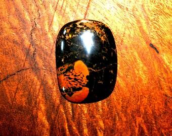 Starburst Obsidian Cabochon