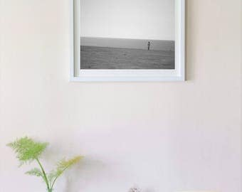 Framed photography print