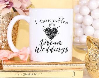 Event Planner Happy Wedding Coffee Mug