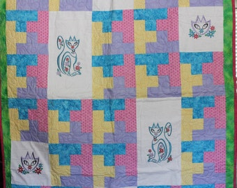 Purr-fectly Sweet Quilt