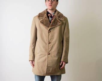 Vintage Saks Fifth Avenue Faux Fur Coat
