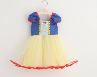 Snow white Girl dress Tutu Costume