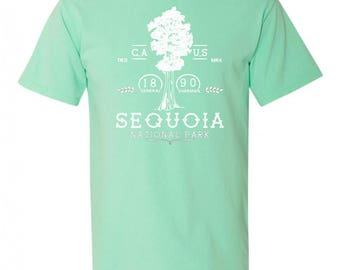 Sequoia National Park Adventure Comfort Colors TShirt