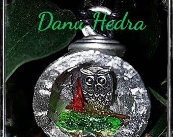 Magic Wiccan Owl