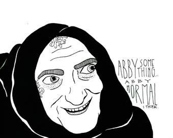 """Igor in """"Young Frankenstein"""" Print"""