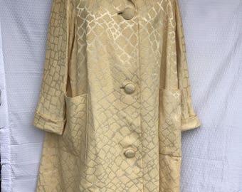 Vintage Swing Coat, 60's 70's, Size Small to Medium