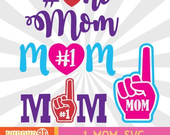 Download Number one mom | Etsy