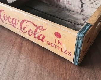 Coca Cola Box, Original Coca Cola Product, Vintage Coca Cola