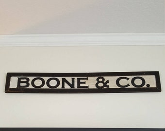 Handcrafted Personalized with family name & Co. - Custom