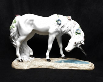 PRINCETON GALLERY LOVE'S Purity Unicorn ~ Unicorns ~ Porcelain Unicorns ~ Birthday Gifts ~ Unicorn Gifts ~ Unicorn Collectors ~ Unicorn Art