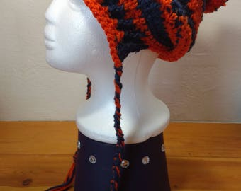 Denver Broncos inspired Slouchy hat