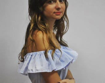 white dress summer sleeve casual comfortable striped dress blue dress medium  m l women's dress tee