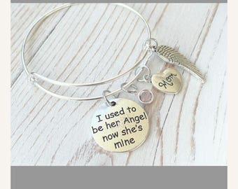 Mom bracelet.